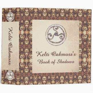 Prim Triskeles Book of Shadows Binder