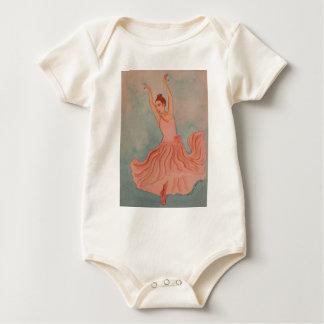 Prima Ballerina Baby Bodysuit