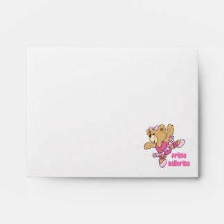 Prima Ballerina Bear Envelopes
