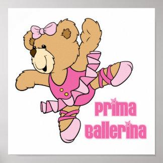 Prima Ballerina Bear Poster
