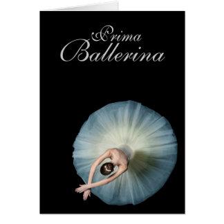 Prima Ballerina Birthday Wishes Card