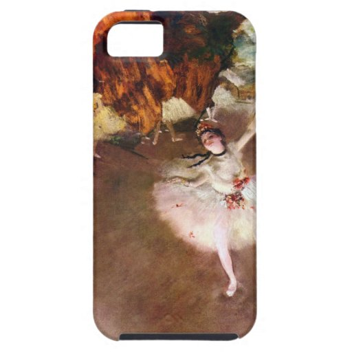 Prima Ballerina by Edgar Degas, Vintage Ballet Art iPhone 5/5S Case