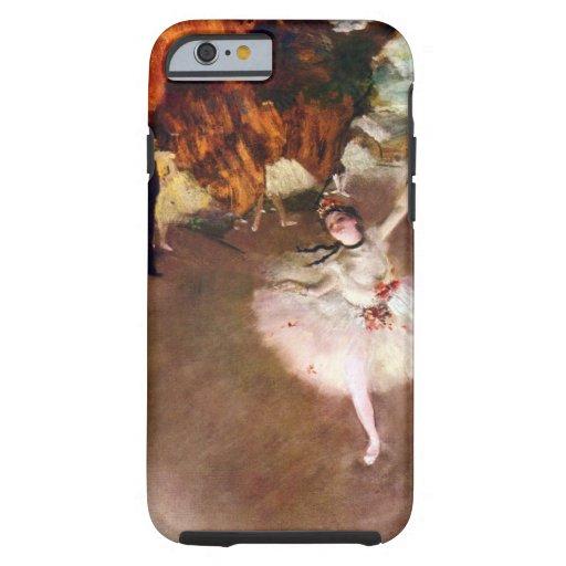 Prima Ballerina by Edgar Degas, Vintage Ballet Art iPhone 6 Case