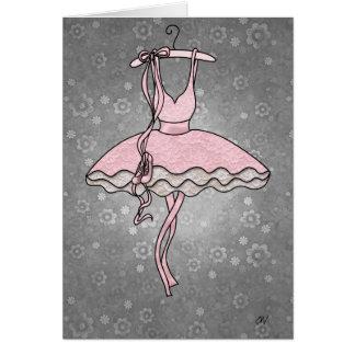 'Prima Ballerina' Card