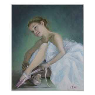 Prima Ballerina Fine Art Print