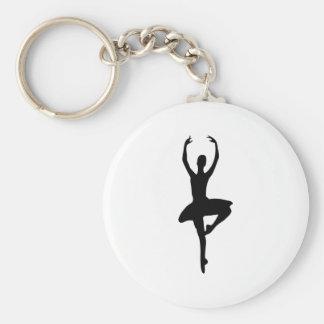 prima ballerina icon key chains