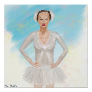Prima Ballerina - Painting Poster