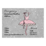 'Prima Ballerina' Profile Card Large Business Cards (Pack Of 100)
