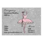 'Prima Ballerina' Profile Card Business Cards