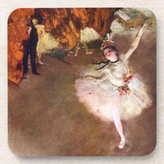 Prima Ballerina, Rosita Mauri by Edgar Degas Beverage Coaster