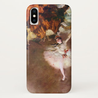 Prima Ballerina, Rosita Mauri by Edgar Degas iPhone X Case