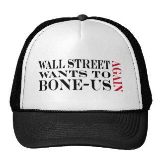 Prima de Wall Street Gorras De Camionero