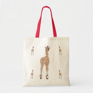Prima Donna Giraffe Budget Tote Bag