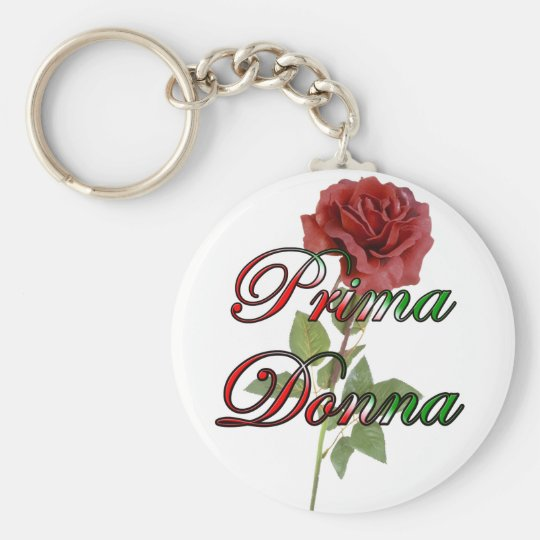 Prima Donna Keychain