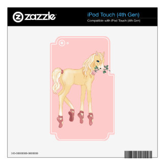 Prima Donna Palomino iPod Touch 4G Decal