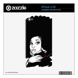 Prima Donna Skin For The iPhone 4