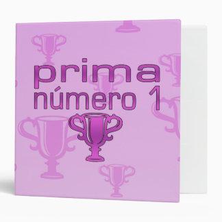 Prima Número 1 3 Ring Binder