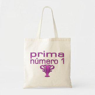 Prima Número 1 Canvas Bags