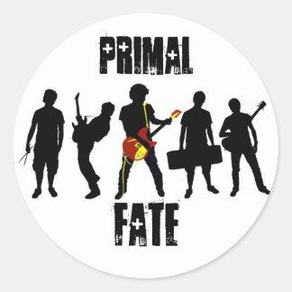 Primal Fate Classic Round Sticker