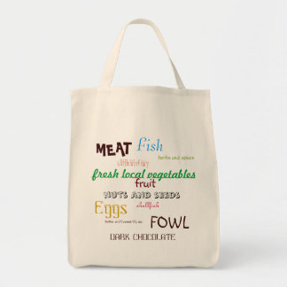 Primal Grocery List Tote