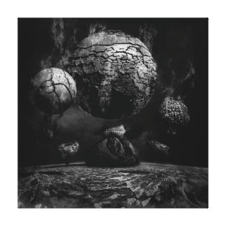 PRIMAL LAND 7 CANVAS PRINT