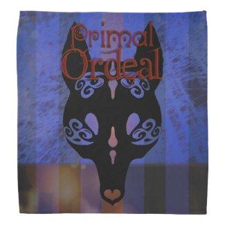 """Primal Ordeal """"Wolf Mask"""" Logo Bandana"""