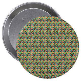 Primal pattern pinback button