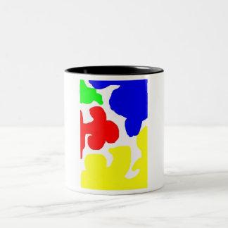 Primarily Coffee Two-Tone Coffee Mug