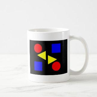 Primario oscuro taza clásica