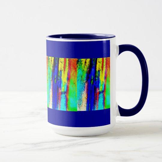 Primary Abstract Design Mug. Mug
