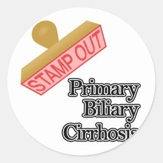Primary Biliary Cirrhosis Stickers