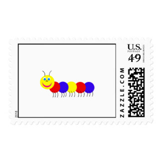primary caterpillar stamps