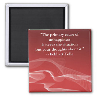 Primary Cause of Unhappiness Fridge Magnet