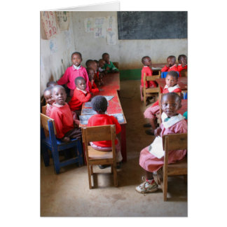 Primary classroom card