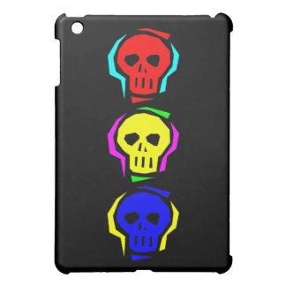 Primary Color Skulls iPad Mini Cover