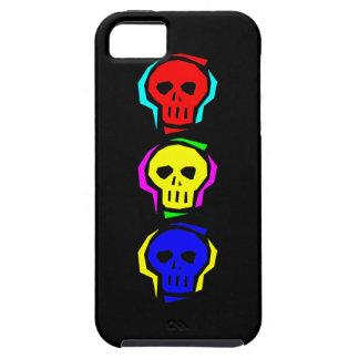 Primary Color Skulls iPhone SE/5/5s Case