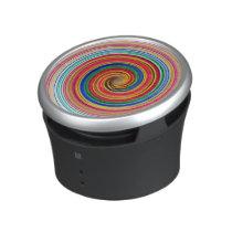 Primary Color Swirls Speaker