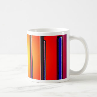 Primary colorful candles for Birthday Coffee Mug