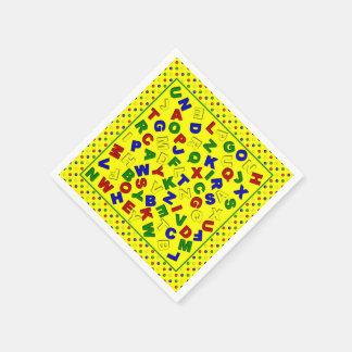 colored paper napkins