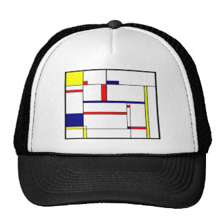 Primary Colors and Shapes Trucker Hat