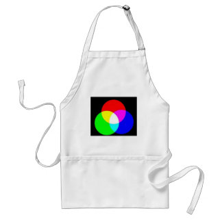 PRIMARY COLORS ADULT APRON