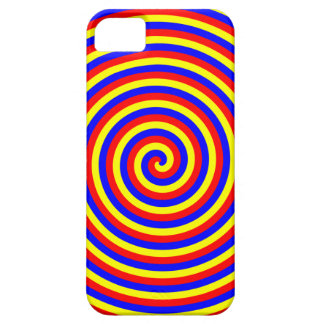 Primary Colors. Bright and Colorful Spiral. iPhone SE/5/5s Case