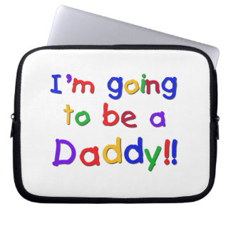 Primary Colors Going to be Daddy Gifts Laptop Computer Sleeve