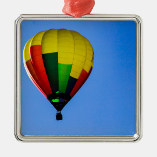 Primary Colors Metal Ornament