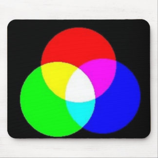 PRIMARY COLORS MOUSE PAD