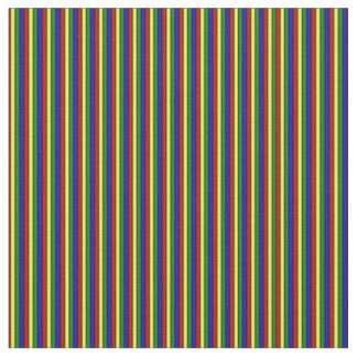 Primary Colors Rolled Stripes FABRIC