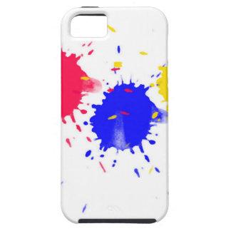 Primary Colors Splash iPhone 5 Cases