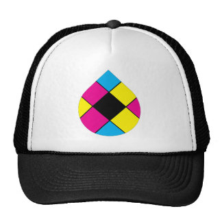 Primary Colors Tear Apparel Trucker Hat