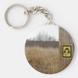 Primary Colours - Wolfville, Nova Scotia Keychain