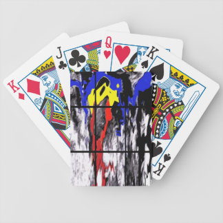 Primary Drip Deck Of Cards